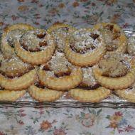 Linecké koláčky se švestkami recept