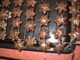 Ořechovo-čokoládové hvězdičky recept