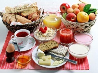 5ti denní dieta  snídaně