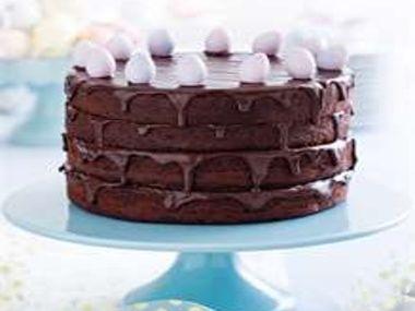 Velikonoční čokoládový dort