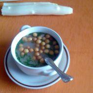 Chřestová polévka se sýrem recept