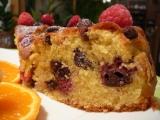 Křupavý malinový koláč recept