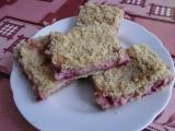 Drobenkový koláč s tvarohem a rybízem recept