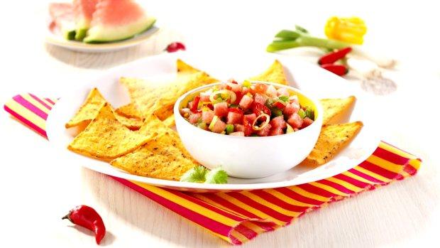 Ohnivo-ledová salsa s melounem