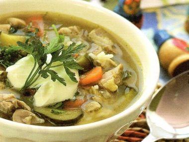 Volžská okurková polévka