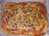 Pizza Grande Rusticana recept