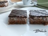 Čokoládovo-kokosové řezy recept
