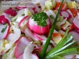 Ředkvičkový pikantní salát recept