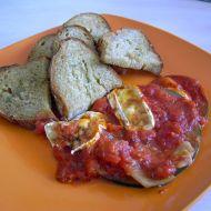 Cuketa se sekanými rajčaty recept
