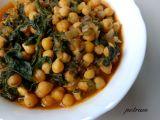 Chana saag (indická cizrna se špenátem) recept