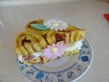 Skořicový roládový dortík recept