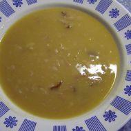 Fazolová polévka s uzeným recept