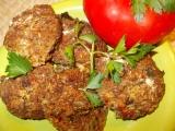 Křehké placičky z kuřecího masa, hlívy , mrkve a rýže recept ...