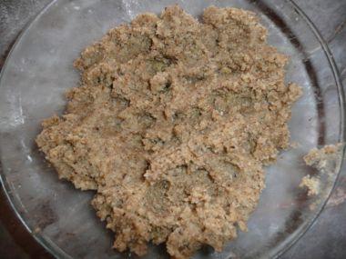 Ořechová náplň do koláčů 1