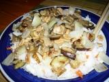 Lilek s arašídy a sezamem recept
