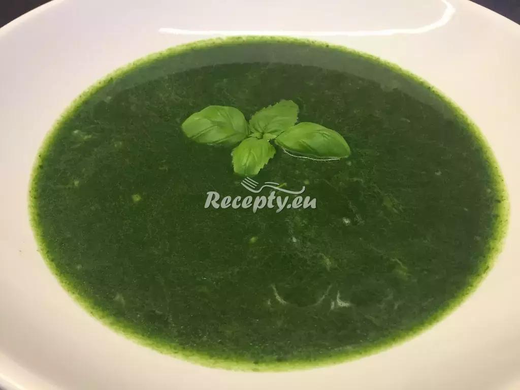 Velikonoční kopřivová polévka recept  slavnostní pokrmy