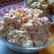 Krabí cottage salát recept