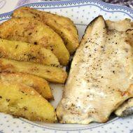 Pstruh s pikantními brambory recept