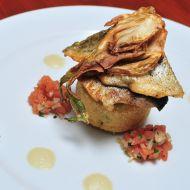 Filet ze pstruha s chřestovo-fenyklovým přelivem recept
