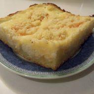 Sypaný koláč s meruňkami recept