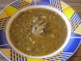 Dršťková polévka ze žampionů recept