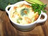 Zapékané mističky s lososem a brokolicí recept