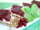 Tvarohovo-rybízový koláč recept