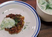 Quinoa-cuketove placicky (veganske) recept