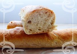 Pšeničné bagety se sezamem recept