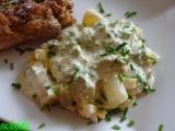 Chřestový salát s vejci recept