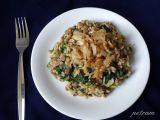 Mujadara (orientální rýže s čočkou) recept