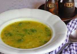 Cuketová polévka s kuskusem recept