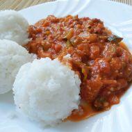 Rajčatová zeleninová omáčka s nivou recept