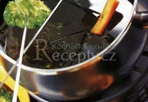 Zeleninové fondue