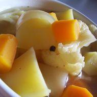 Polévka z květákového vývaru recept