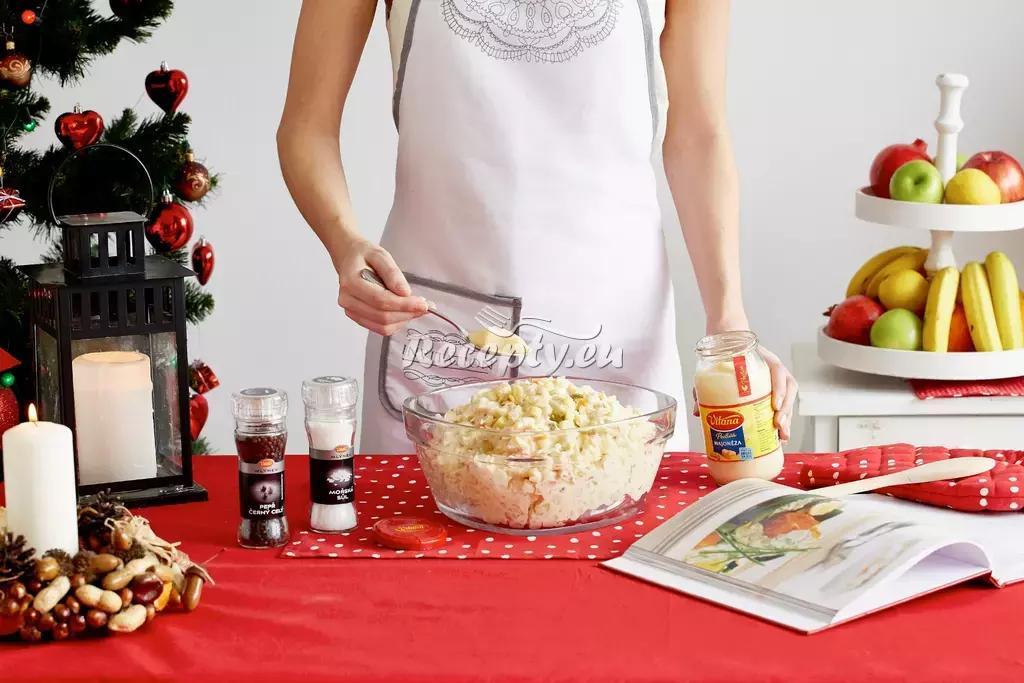 Vítězný bramborový salát recept  bramborové pokrmy