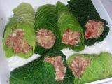 Kapustové závitky na marocký způsob recept