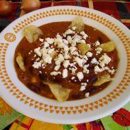 Fazolová polévka s nachos recept