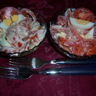 Rajský salát s vejci recept