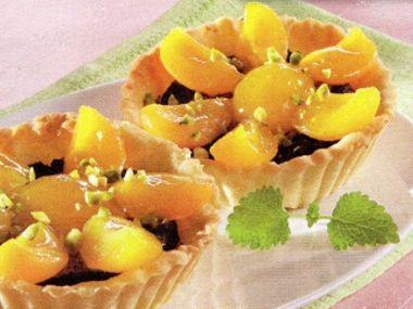 Meruňkové tartaletky  bio