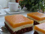 Řezy s lučinovým krémem a meruňkovým želé recept