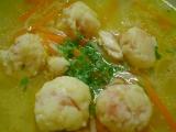 Vydatná kuřecí polévka recept
