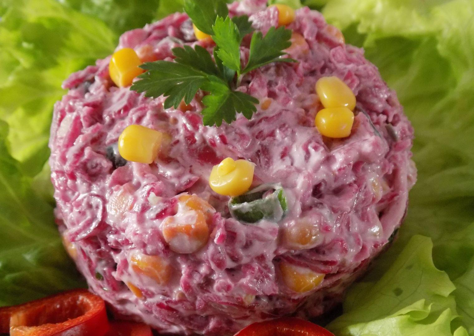 Salát z kysaného červeného zelí recept