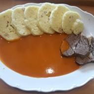 Rajská omáčka s hovězím masem ala Dočík recept