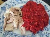Červená pohanka s kuřetem recept