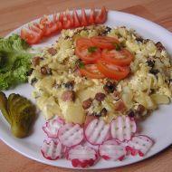 Sedlácká omeleta s rajčaty recept