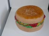 Sladký hamburger  dort recept