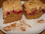 Švestkový koláč ze špaldové mouky recept