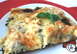 Špenátovo ( mangoldovo )  šunkový slaný koláč recept ...