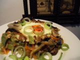 Zapečené houby se zeleninou recept